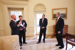 Oval Office prep