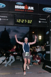 Finishing the 2008 Ironman Wisconsin Injury Free